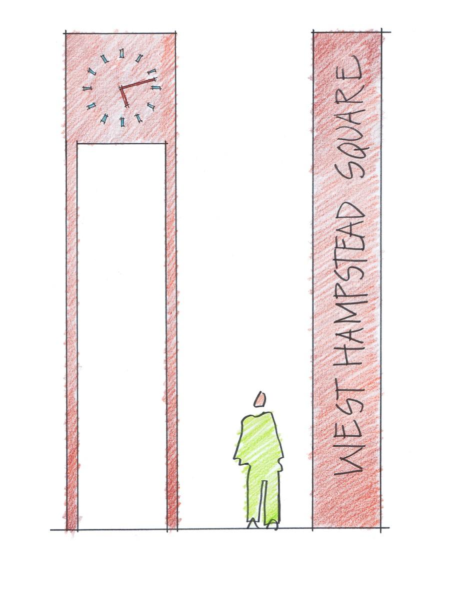 8167 clocktower sketch